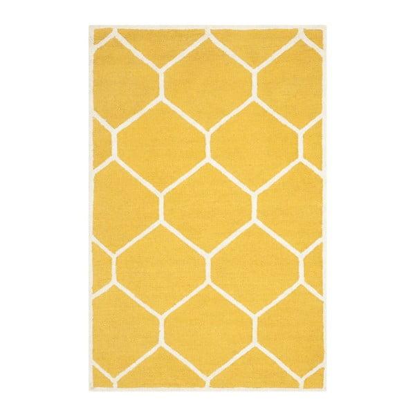 Koberec Lulu Yellow, 121 x 182 cm