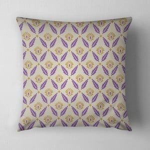 Vankúš Purple Leaves, 43x43 cm
