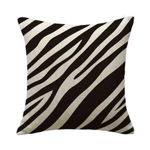 Polštář Animal Zebra, 45x45 cm