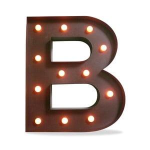 Svetelná LED dekorácia Letter B