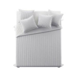 Sivý pléd cez posteľ Slowdeco Bohemian, 170×210 cm