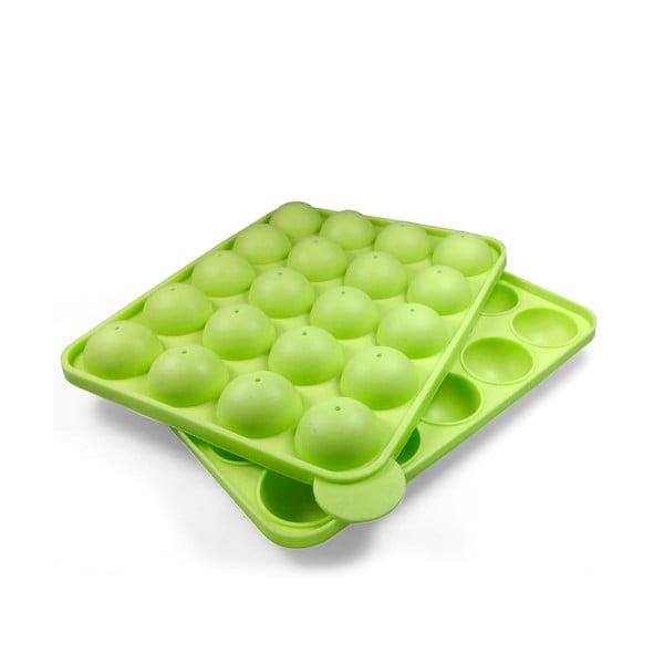Silikónová forma na pečenie na cake pops JOCCA Green