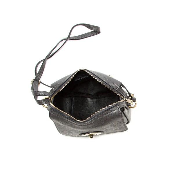 Sivá kožená kabelka Sofia Cardoni Roberta