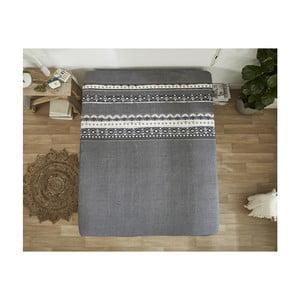 Sivá bavlnená plachta Dreamhouse Scandinavian, 160×220 cm