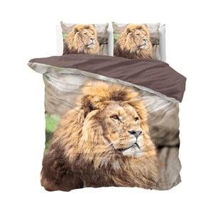 Bavlnené obliečky na dvojlôžko Sleeptime Lion, 240×220 cm