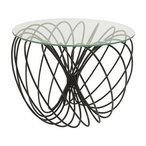 Odkladací stolík Kare Design Wire Ball, ⌀60cm