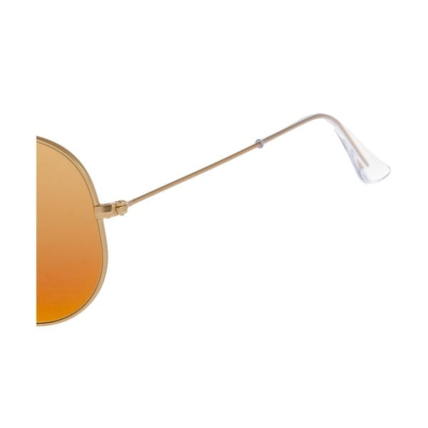Slnečné okuliare Ray-Ban Aviator Flash Gold Fire