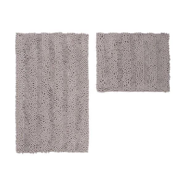 Sada 2 kúpeľňových predložiek Surface Taupe