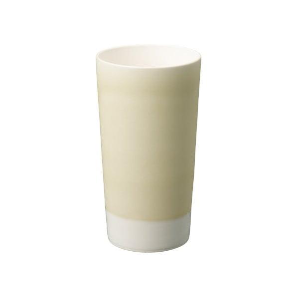 Žltý porcelánový pohár na pivo Kinto Tumbler