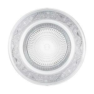 Sklenený tanier Unimasa Romance, Ø 25 cm