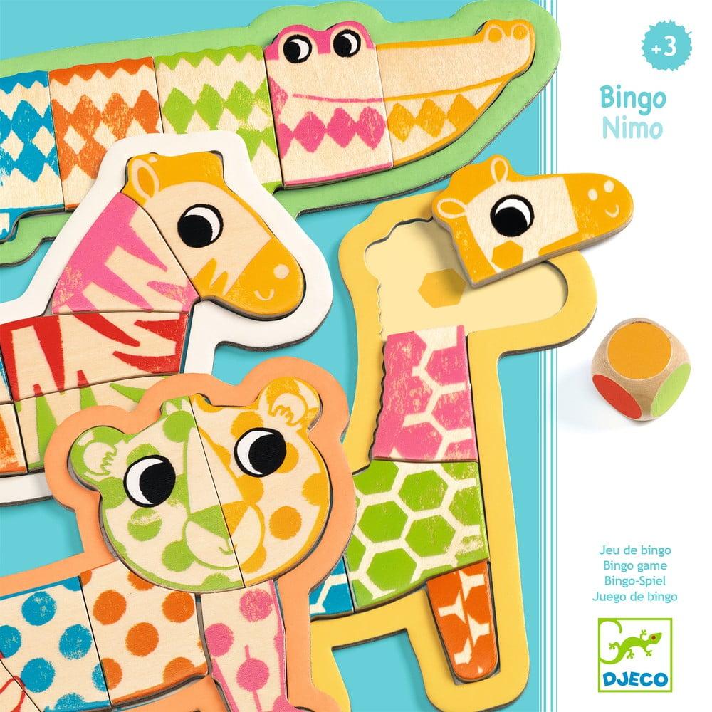 Detská drevená hra Djeco Bingonimo