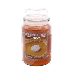 Vonná sviečka v skle s vôňou dyňového korenia Candle-Lite, doba horenia až 120 hodín