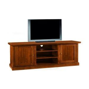 Dvojdverová drevená TV komoda Castagnetti Noce