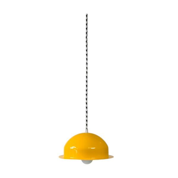 Stropné svetlo Steel Pendant, žlté