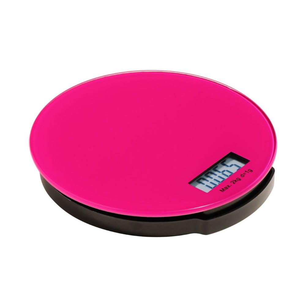 Ružová kuchynská digitálna váha Premier Housowares Zing