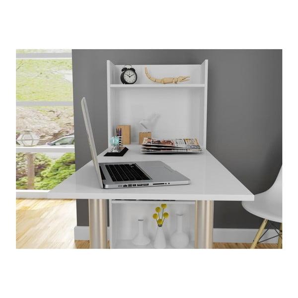 Pracovný stôl Flamingo White