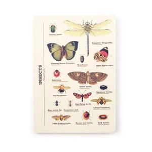 Zápisník Gift Republic Insects, veľ.A5