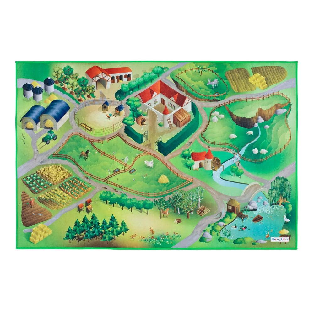 Detský koberec Universal Grip Farm, 100 × 150 cm