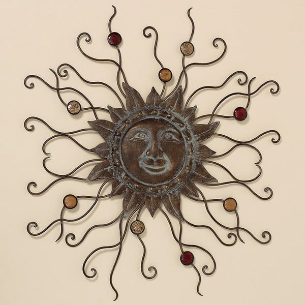 Nástenná dekorácia Sun, 69 cm