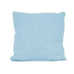 Modrý vankúš s výplňou Present Time Cozy