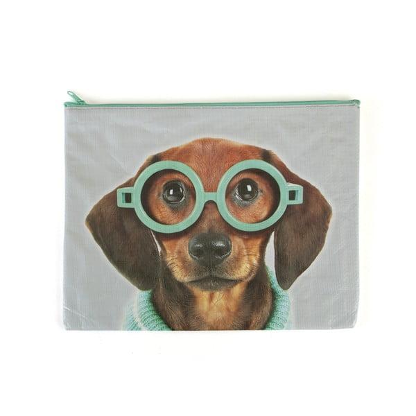 Vrecko Glasses Dog A4