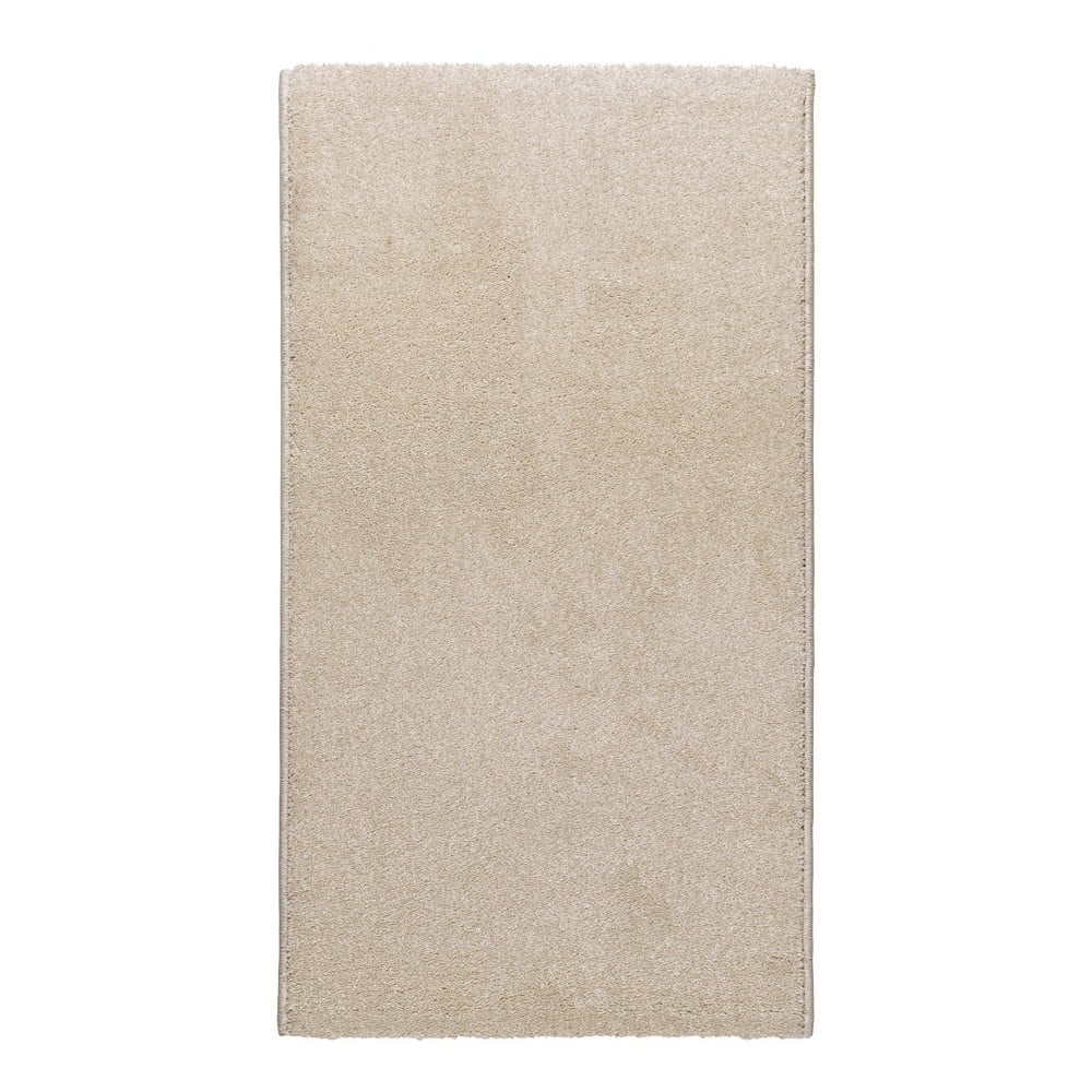 Krémovobiely koberec Universal Velur, 57 × 110 cm
