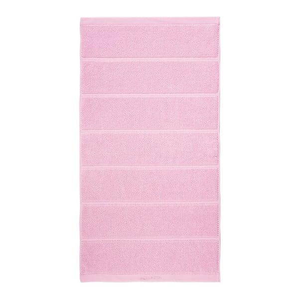 Ružový uterák Aquanova Adagio, 55 x 100 cm