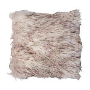 Hnedá obliečka na vankúš Clayre & Eef Fur