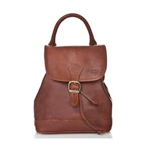 Hnedý dámsky batoh z teľacej kože Medici of Florence Marta