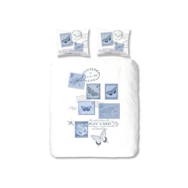 Obliečky Postage, 240x200 cm, modré