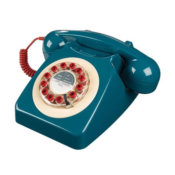 Retro funkčný telefón Serie 746 Blue