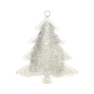 Kovová vianočná dekorácia v striebornej farbe A Simple Mess Julia Tree
