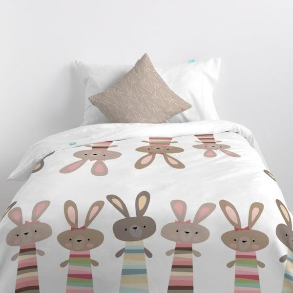 Obliečky Little W Rabbit, 140×200cm