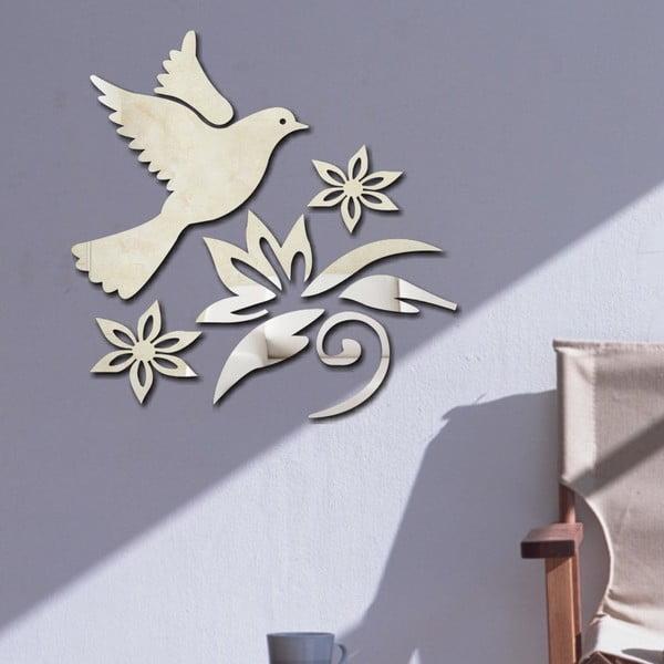 Dekoratívne zrkadlo Vtáčik