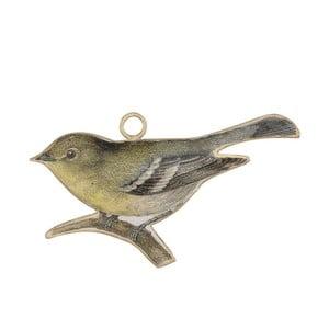 Kovová dekorácia v tvare vtáčika A Simple Mess Gera