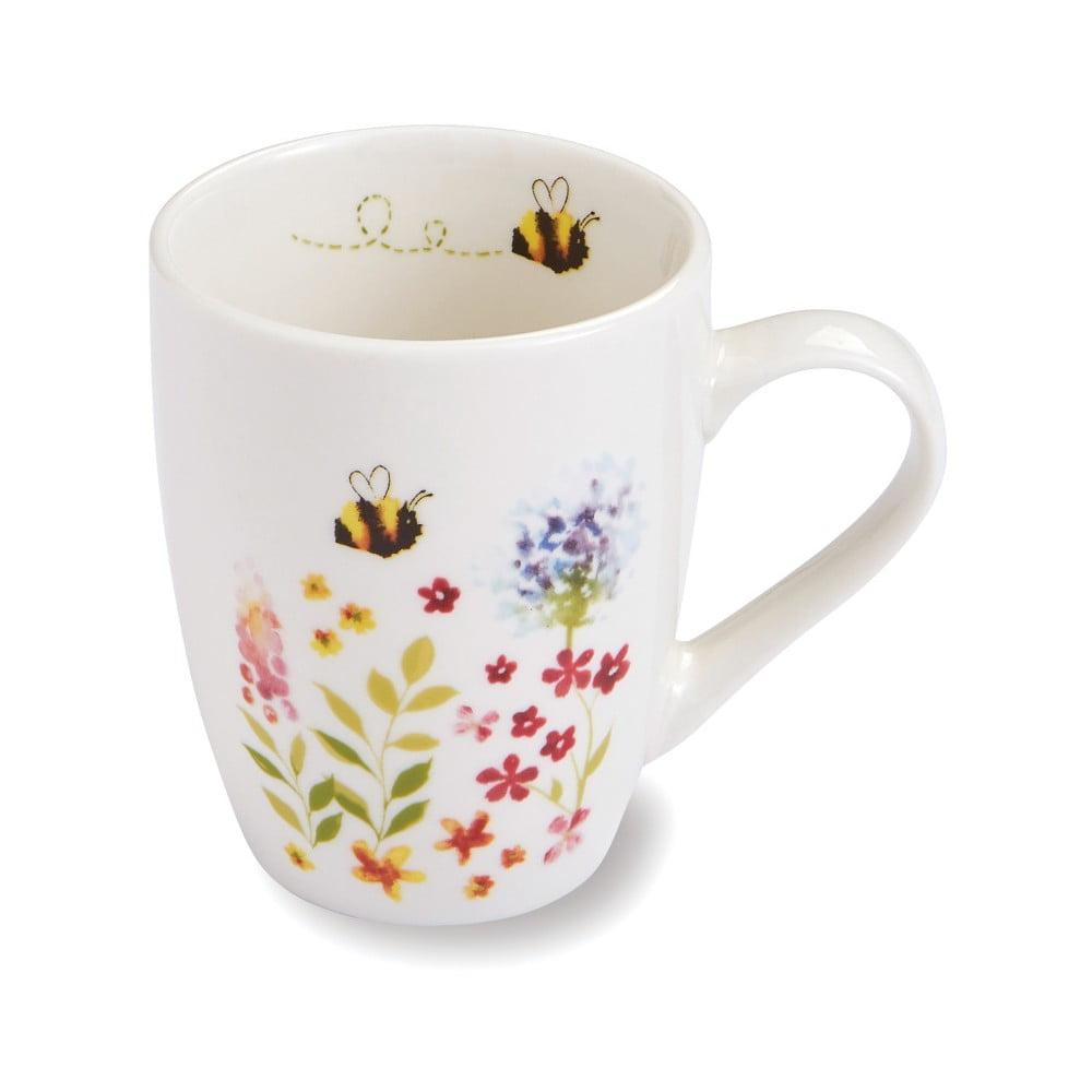 Hrnček z porcelánu Cooksmart England Flowers, 350 ml