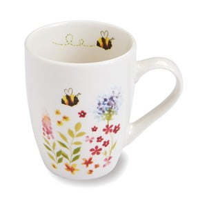 Hrnček z porcelánu Cooksmart ® Bee Happy, 350 ml