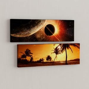 Sada 2 obrazov Blízko a ďaleko