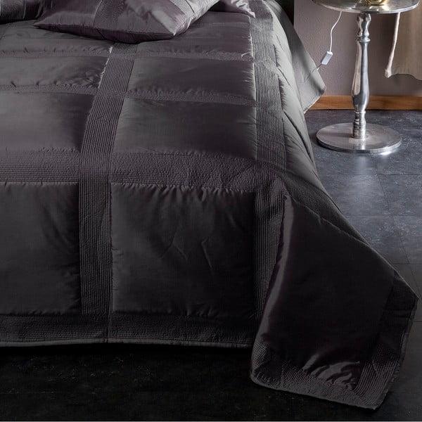Prikrývka na posteľ Montana Anthracite, 270x270 cm