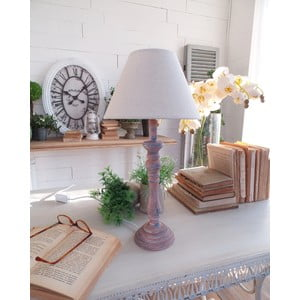 Stolná lampa Rusty Blue, 22x44 cm