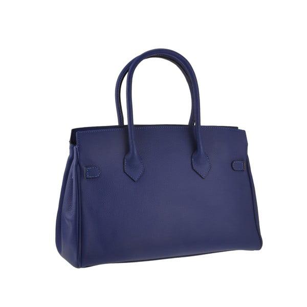 Modrá kožená kabelka Florence Gallina