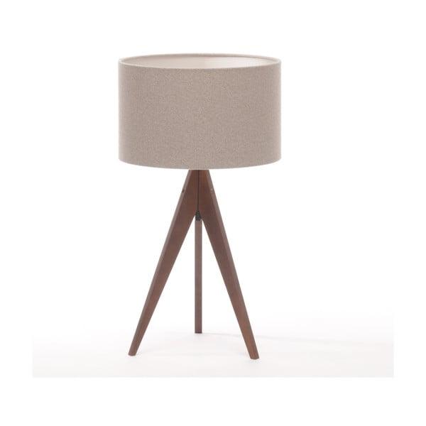 Stolná lampa Arist Brown Grey/Dark Brown