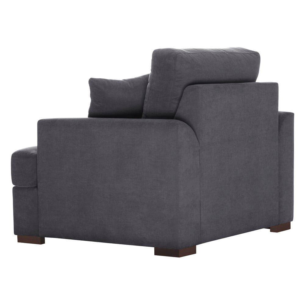 antracitovosiv kreslo jalouse maison irina bonami. Black Bedroom Furniture Sets. Home Design Ideas