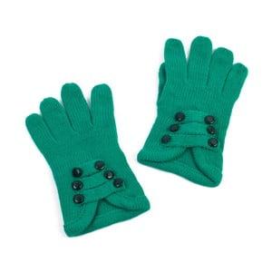 Zelené dámske rukavice Art of Polo Pamela