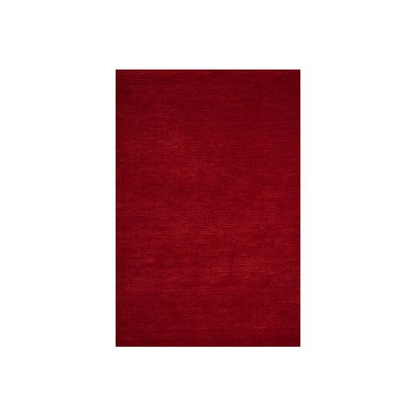 Vlnený koberec Millennium 80x150 cm, červený