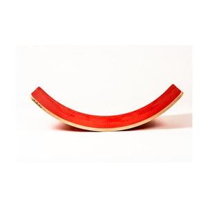Červená buková hojdacia doska Utukutu Woudie, dĺžka117 cm