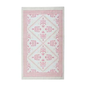 Púdrový bavlnený koberec Floorist Flair, 80x300cm