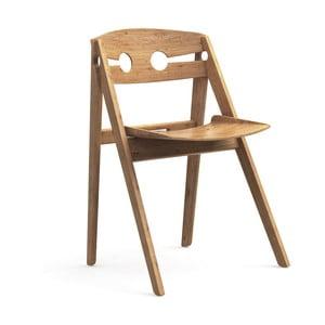 Jedálenská stolička s konštrukciou z bambusu Moso We Do Wood