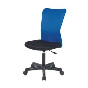 Modrá kancelárska stolička SOB Officer