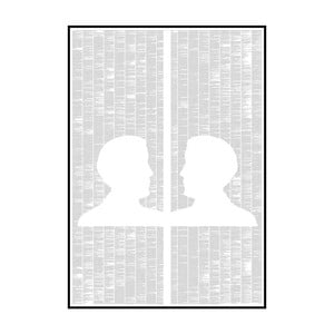 Knižný plagát Obraz Doriana Graya, 70x100 cm